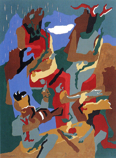 Jacob Lawrence, 'Celebration of Heritage ', 1992