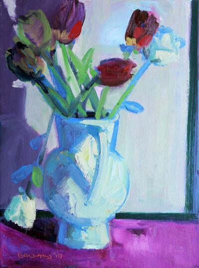 Brian Ballard, 'White Jug Of Roses', 2017