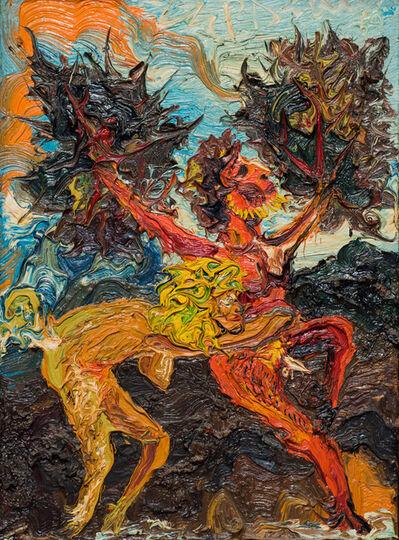Peter Dean, 'Catching A Tree Man', 1969