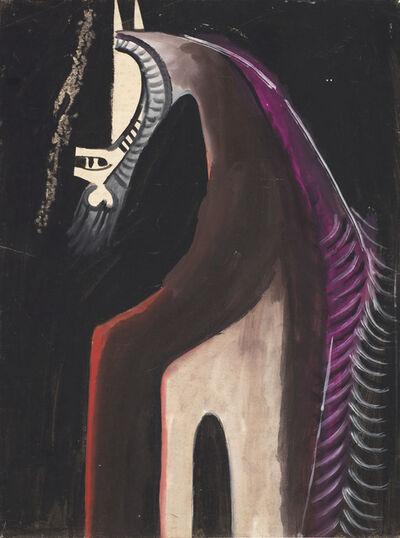 Wifredo Lam, 'Idolo foresta', circa 1954