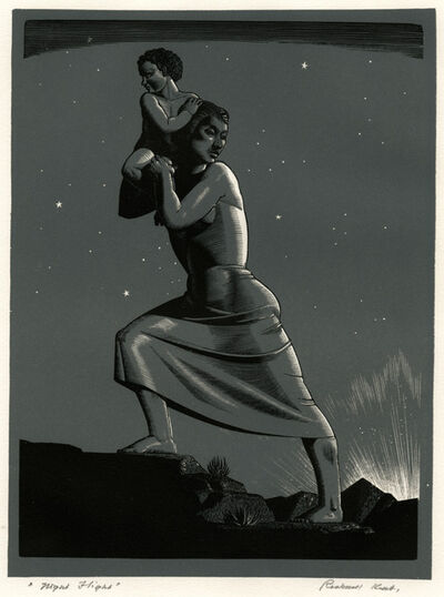 Rockwell Kent, 'Night Flight', 1941