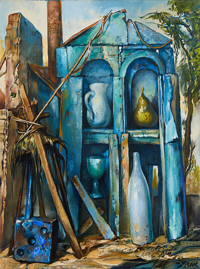 Samuel Bak, 'In the House of Blues', 2019
