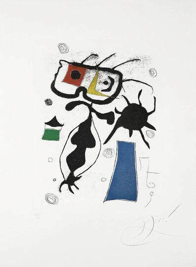 Joan Miró, 'Hommage a San Lazzaro, Pl. 6', 1977