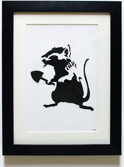 Banksy, 'Rat Stencil', 2002