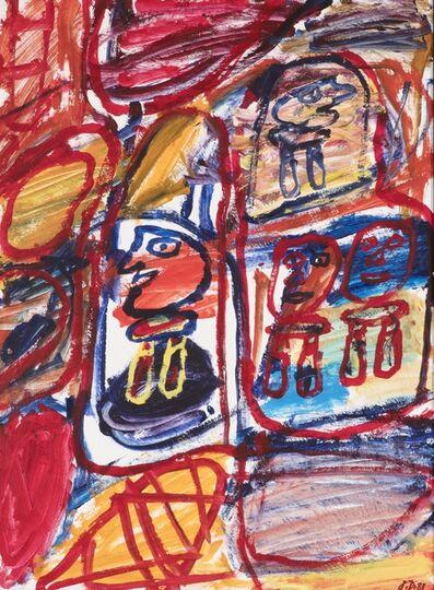 Jean Dubuffet, 'Site Avec 4 Personnages', 1981