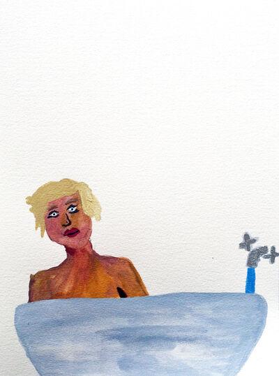 Sara Zielinski, 'Men in Bath 2', 2015