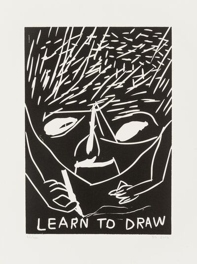 David Shrigley, 'Learn to Draw', 2014