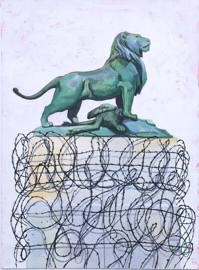 Thomas John Carlson, 'French Lion', 2018