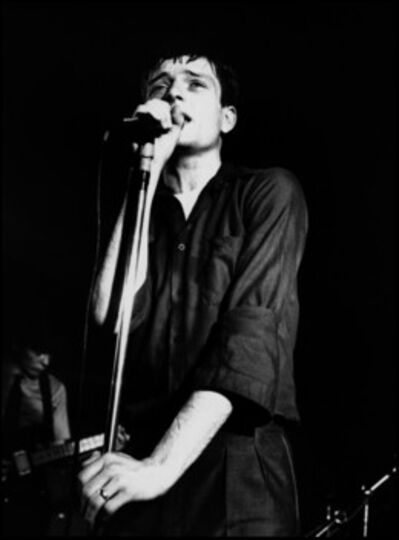 Kevin Cummins, '8. Ian Curtis, Joy Division, The Factory Hulme, Manchester', 2006