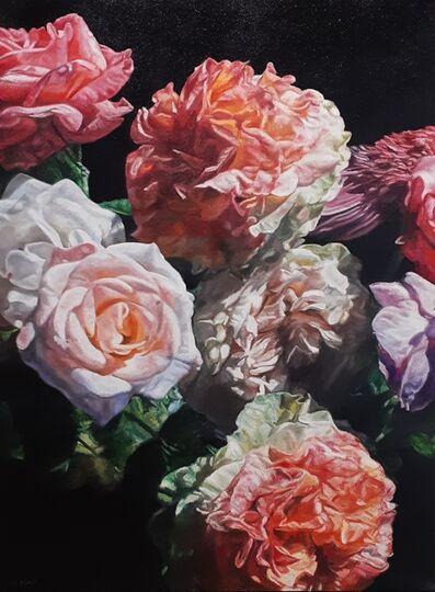 robert lemay, 'Garden Flowers', 2019