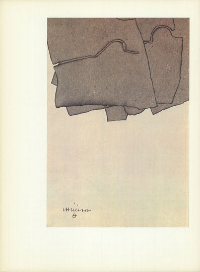 Eduardo Chillida, 'Untitled', (Date unknown)