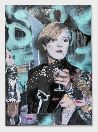 Paulina Olowska, 'Dans les Volutes Pavilionesque', 2015