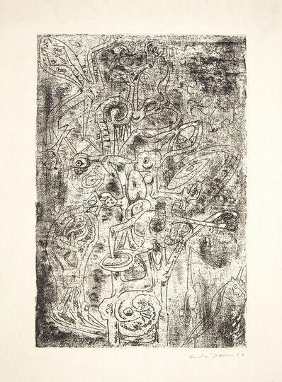 André Masson, 'Les Fruits de l'abîme, from VVV Portfolio', 1942