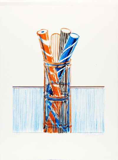 Wayne Thiebaud, 'Glassed Candy, from the Presidential Portfolio', 1980
