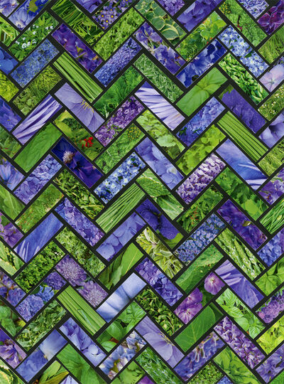 Margaret Lanzetta, 'Purple Green', 2015