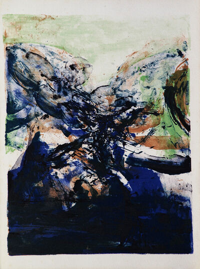 Zao Wou-Ki 趙無極, 'Abstract', 1975