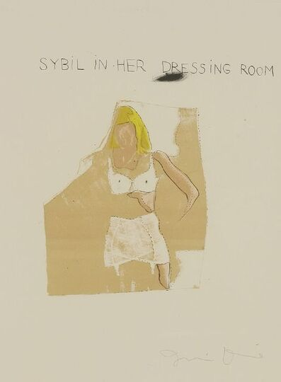 Jim Dine, 'Sybil in her Dressing Room', 1968