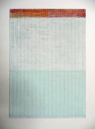 Vincent Hamel, 'Pale Green and Orange On White', 2005