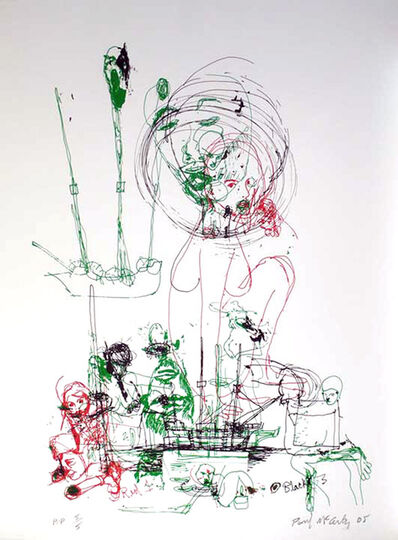 Paul McCarthy, 'Untitled Silkscreen Print by Paul McCarthy', 2005