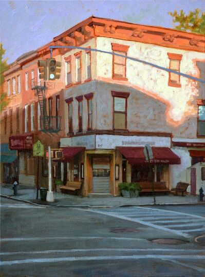 Paul Schulenburg, 'Daybreak At The Corner'