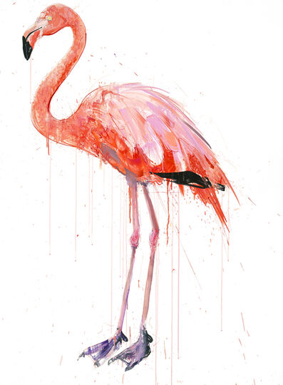 Dave White, 'Flamingo I', 2019