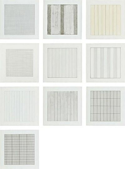 Agnes Martin, 'Paintings and Drawings, 1974-1990', 1991