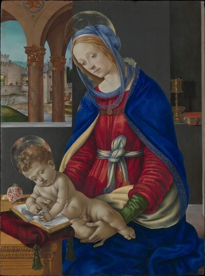 Filippino Lippi, 'Madonna and Child', ca. 1483–1484