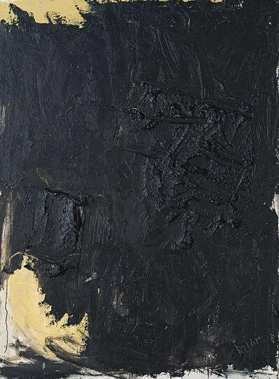 Huang Rui 黄锐, 'Black No. 1 黑 (一)', 1991