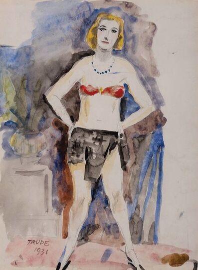 Walt Kuhn, 'Trude', 1931