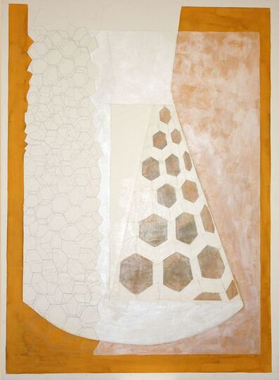 Laura Lio, 'Drawing hexagons', 2002