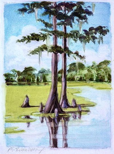 Marguerite Robichaux, 'Spanish Lake'