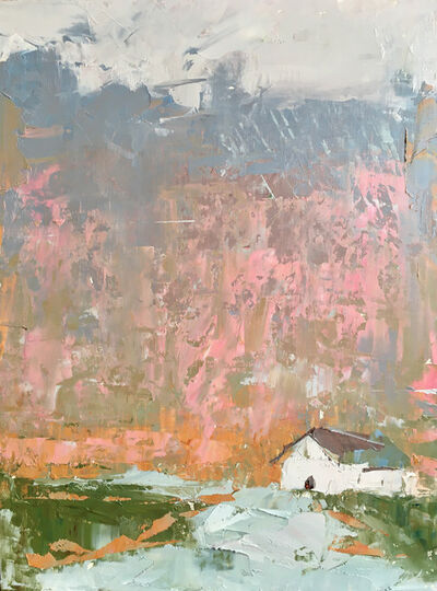 Sandra Pratt, 'House with Pink', 2021