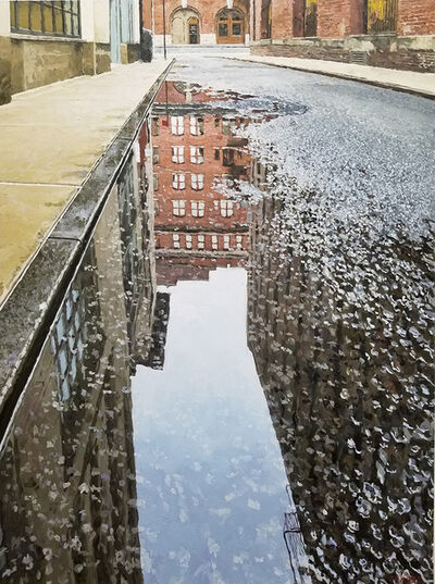 Richard Combes, 'Collister Street Reflection', 2020