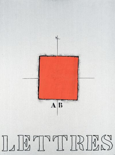 James Coignard, 'Lettres', 1989