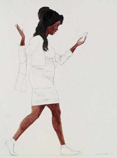 Kimathi Donkor, 'Notebook XXIV', 2018