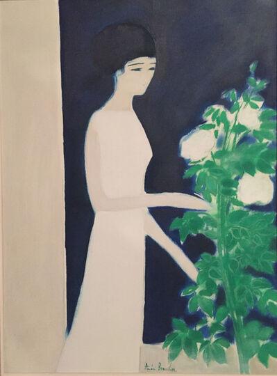 Andre Brasilier, 'Le Rosier Blanc', 1975