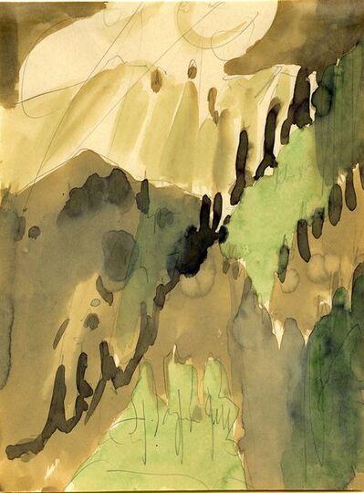 Ernst Ludwig Kirchner, 'Davoser Berglandschaft im Sonnenschein (Mountain Landscape in Sunshine in Davos)', 1934