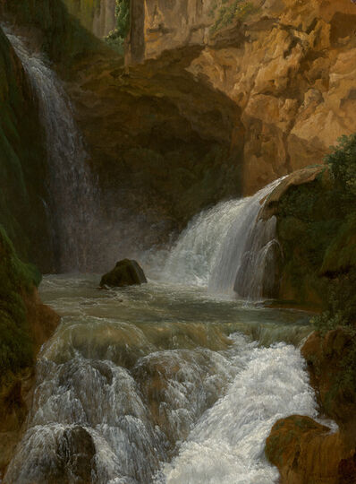 Jean Joseph Xavier Bidauld, 'View of the Waterfalls at Tivoli', 1788
