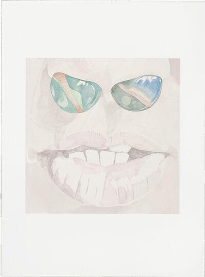 Friedemann Heckel, 'Untitled (Instagram Watercolor #6)', 2017