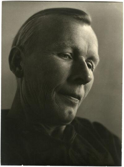 Johan Hagemeyer, 'Portrait of Vasia Anikeyev', 1938