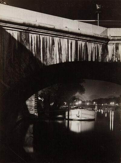 Brassaï, 'The Seine at Night', ca. 1932