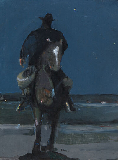 Robert Pollien, 'Rider at Dusk ', 2018