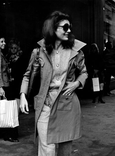 Ron Galella, 'Jackie Onassis, October 15, 1970, NYC', 1970
