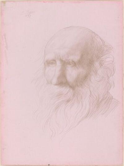 Alphonse Legros, 'Head of an Old Man', 1897