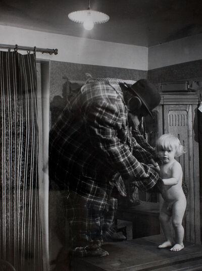 Brassai (Gyula Halasz), 'L'Homme Gorille et Son Fils', ca. 1933