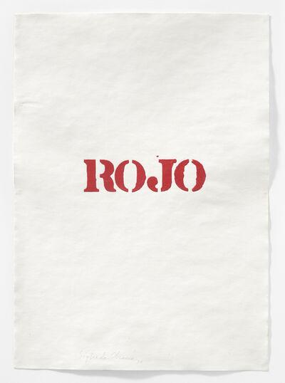 Sigfredo Chacón, 'Dibujo serie London (Rojo)', 1974