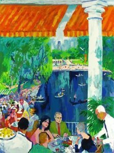 LeRoy Neiman, 'The boat house Central Park ', 2003