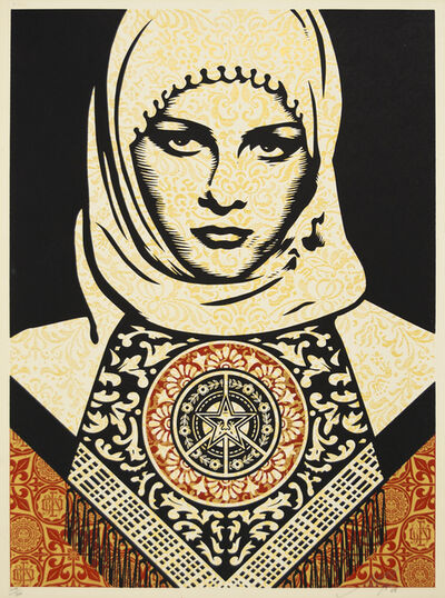 Shepard Fairey (OBEY), 'Arab Woman', 2006