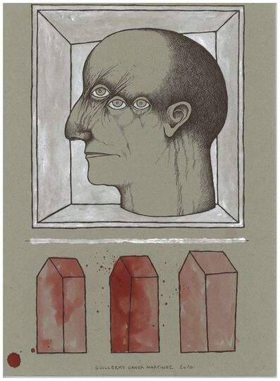 Guillermo Ganga, 'Retrato, Serie Espinos', 2016