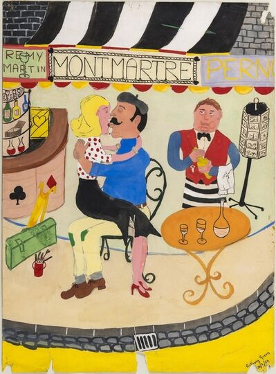 Anthony Green, 'Montmartre', 1954
